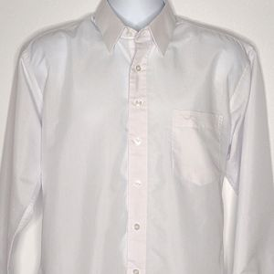 Giorgio Armani   Men's White Long Sleeve Shirt